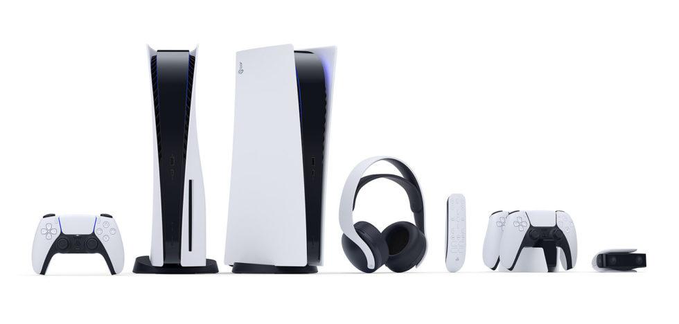 PS5の本体やコントローラー、リモコンやヘッドセット