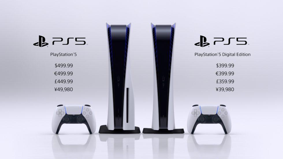 PS5の値段、発売日が発表。49,980円と安い